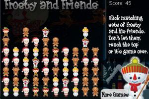 《圣诞节雪人消消看》游戏画面1