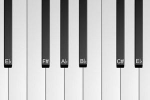 《在线玩钢琴》游戏画面1