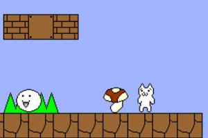 《貓里奧無敵版》游戲畫面3