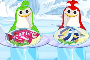 《企鹅鲜鱼餐厅》游戏画面1