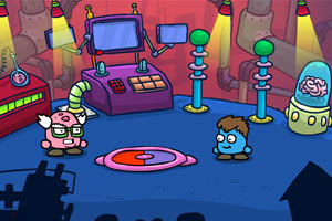 《小怪UFO大冒险》游戏画面1