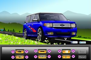 《组装福特越野车》游戏画面1