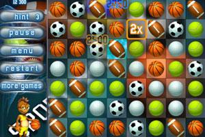 《经典球类对对碰》游戏画面1