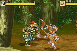 《三国志双人版》游戏画面1