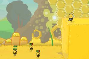 《愤怒的小蜜蜂》游戏画面1