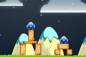 《愤怒的蓝鸟》游戏画面1