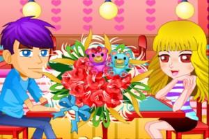 《浪漫情人节花束设计》游戏画面1