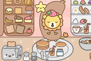 《给向日狮做早餐》游戏画面1