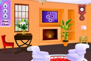 《布置冬季房间》游戏画面1