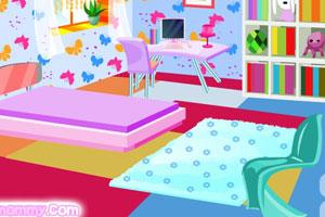 《可爱宝宝卧室》游戏画面1