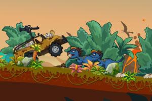 《大卡车猎杀恐龙》游戏画面1