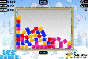 《彩色冰块消消看》游戏画面1