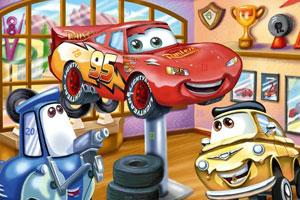 《寻找隐藏的字母之汽车总动员》游戏画面1