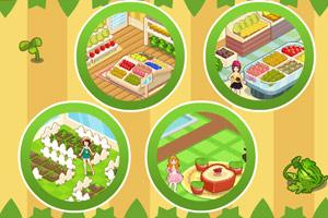 《女孩的水果店》游戏画面1