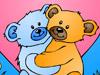 熊夫妇着色
