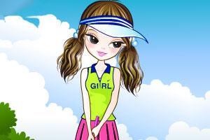《高尔夫球女孩》游戏画面1