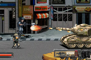 《街道版合金弹头无敌版》游戏画面1