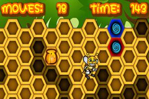 《聪明的蜜蜂》游戏画面1