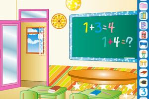 《布置小课堂》游戏画面1