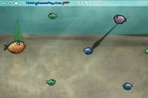 《贪吃的小鱼》游戏画面1