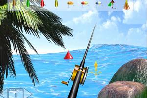 《海边钓鱼》游戏画面1