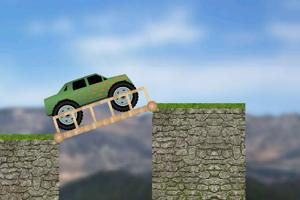 《大卡车过桥》游戏画面1