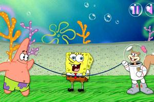 海绵宝宝深海跳绳