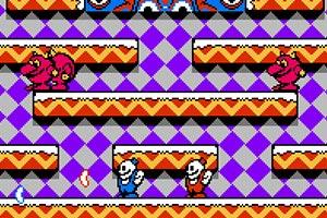 《雪人兄弟双人无敌版》游戏画面1