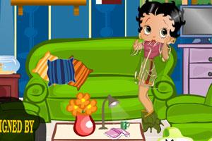 《贝蒂客厅装饰》游戏画面1