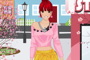《购买春装》游戏画面1