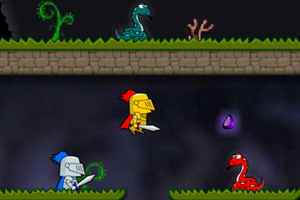 《公主大营救选关版》游戏画面1