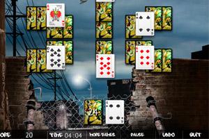 《纸牌叠叠落》游戏画面1