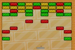 《打砖块游戏》游戏画面1