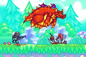 《乌龟战士变态版》游戏画面1