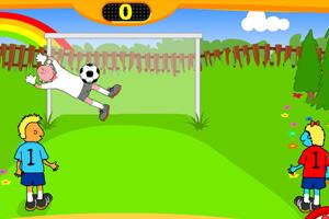 《双人足球比赛》游戏画面1