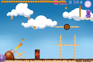 《大炮轰饼干2》游戏画面1