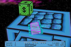 《3D太空大脚》游戏画面1