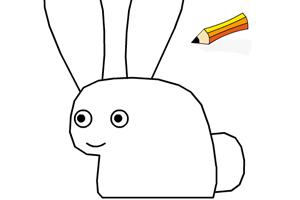 《教你画兔子》游戏画面1