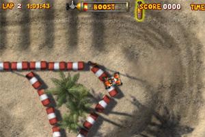 《沙地四驱车拉力赛》游戏画面1