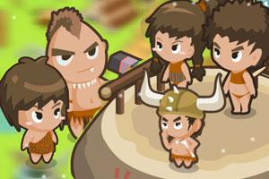 《原始部落》游戏画面1
