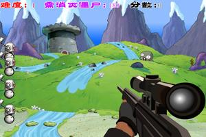 《CS阻击僵尸修改版》游戏画面1