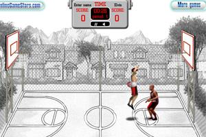 《街头篮球单挑赛》游戏画面1