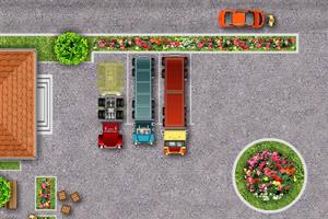 大卡车司机停车2