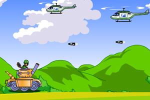 《坦克大战飞机》游戏画面1