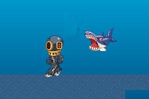 《深海大白鲨》游戏画面1