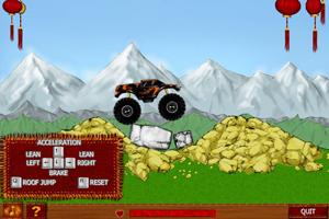 《长城怪物卡车》游戏画面1