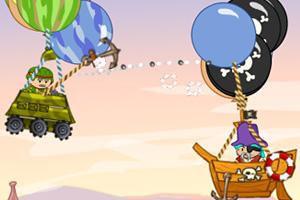 《热气球空中战争》游戏画面1