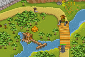 《三国DOTA塔防战》游戏画面1