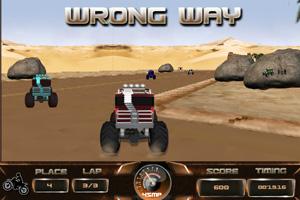《怪物卡车赛3D》游戏画面1