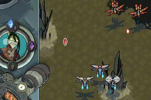《变形蜻蜓战机》游戏画面1